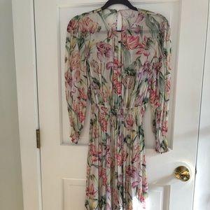 Zara long floral dress